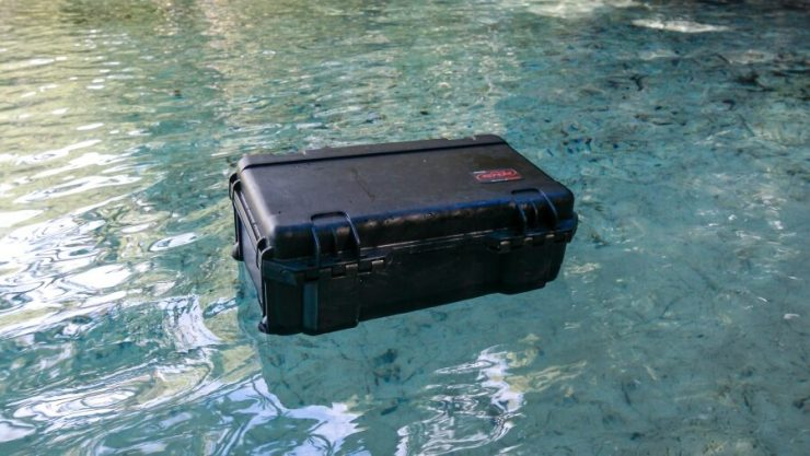 SKB Case in Water